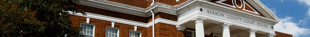This is a picture of the Barrow county courthouse.